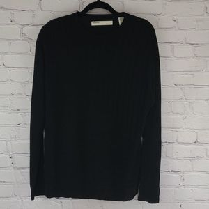 Perry Ellis black long sleeve sweater size Large